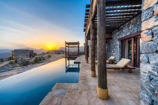 Alila Jabal Akhdar - Jabal Villa Private Pool 01